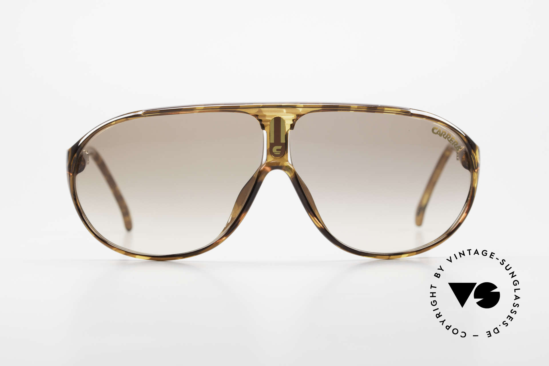 Carrera 5412 Optyl Sonnenbrille 80er Sport, aus extrem robusten und langlebigen OPTYL-Material, Passend für Herren und Damen