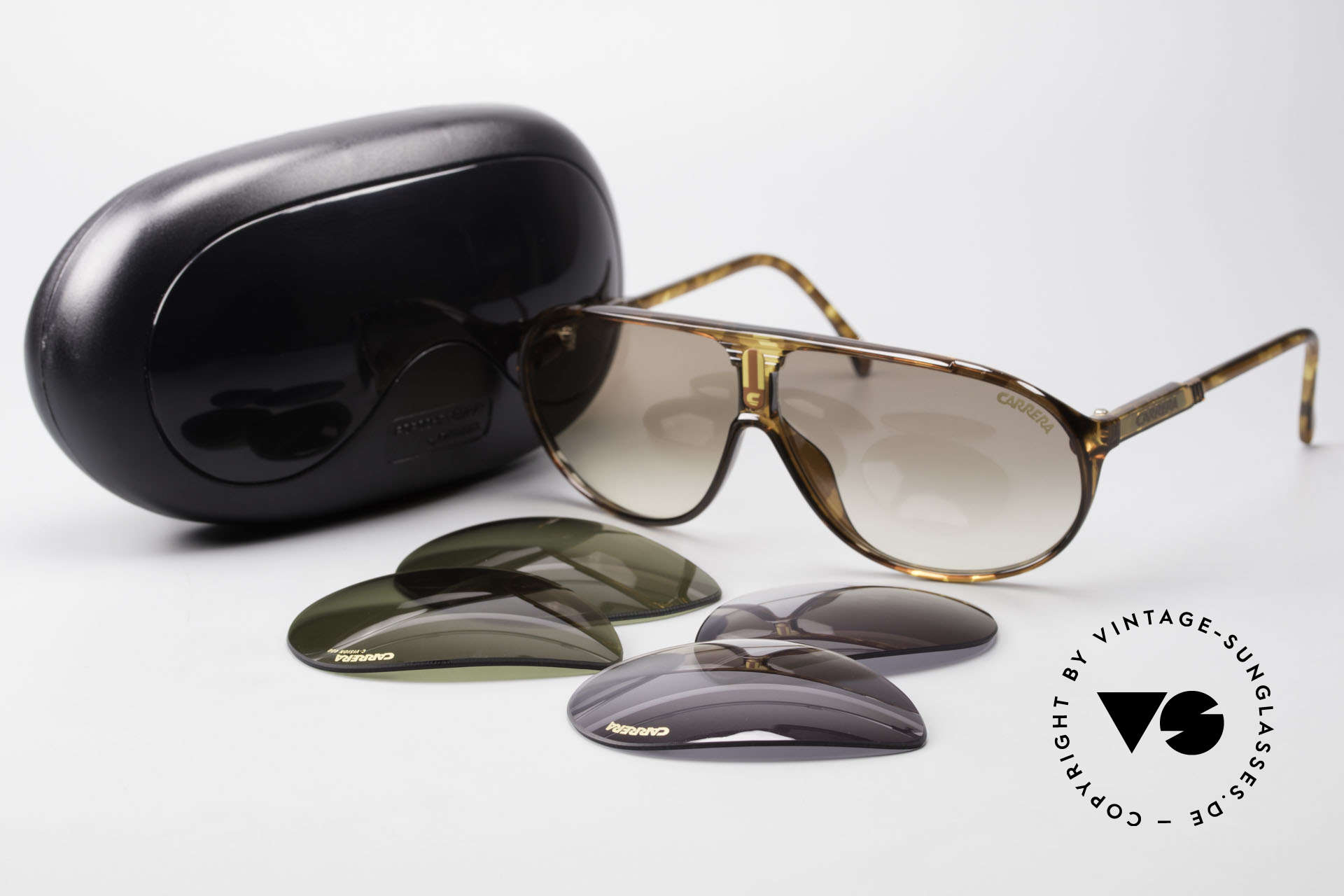 Carrera 5412 Optyl Sonnenbrille 80er Sport, KEINE Retrobrille; ein mind. 30 Jahres altes ORIGINAL!, Passend für Herren und Damen