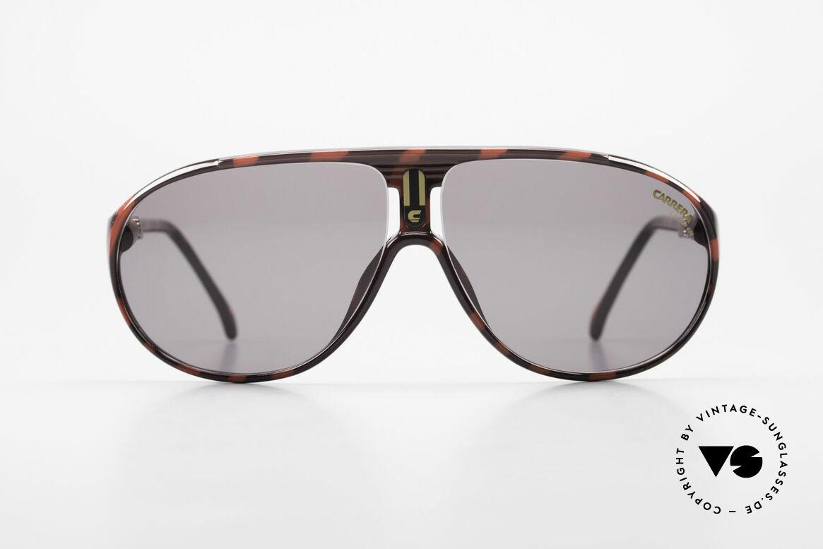 Carrera 5412 80er Sonnenbrille Optyl Sport, aus extrem robusten und langlebigen OPTYL-Material, Passend für Herren und Damen