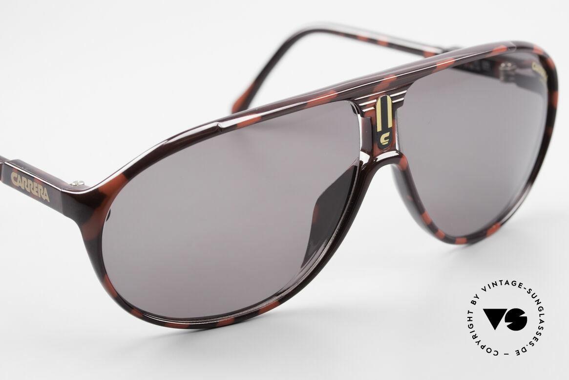 Carrera 5412 80er Sonnenbrille Optyl Sport, grün-Verlauf C-VISION 400; 1x grün; 1 x grau C-VISION, Passend für Herren und Damen