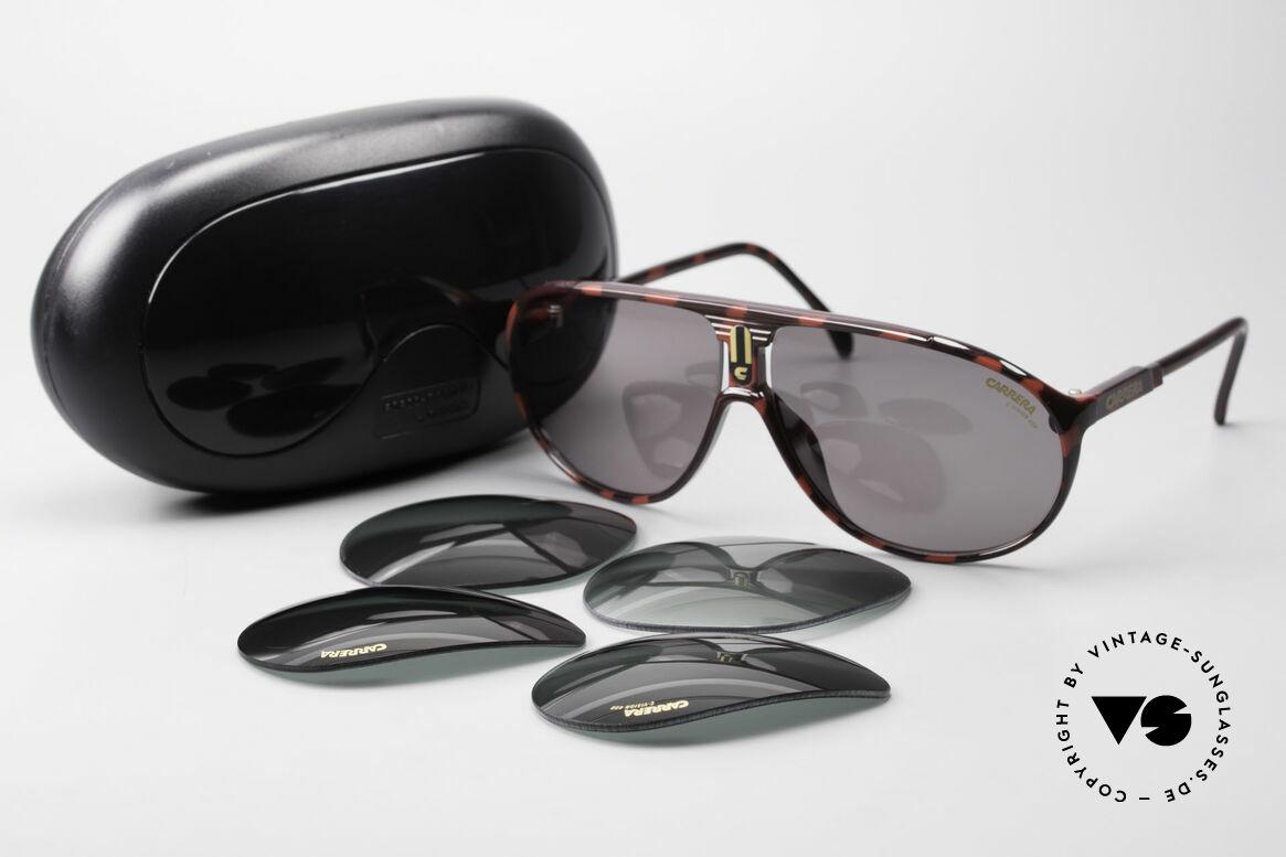 Carrera 5412 80er Sonnenbrille Optyl Sport, KEINE Retrobrille; ein mind. 30 Jahres altes ORIGINAL!, Passend für Herren und Damen
