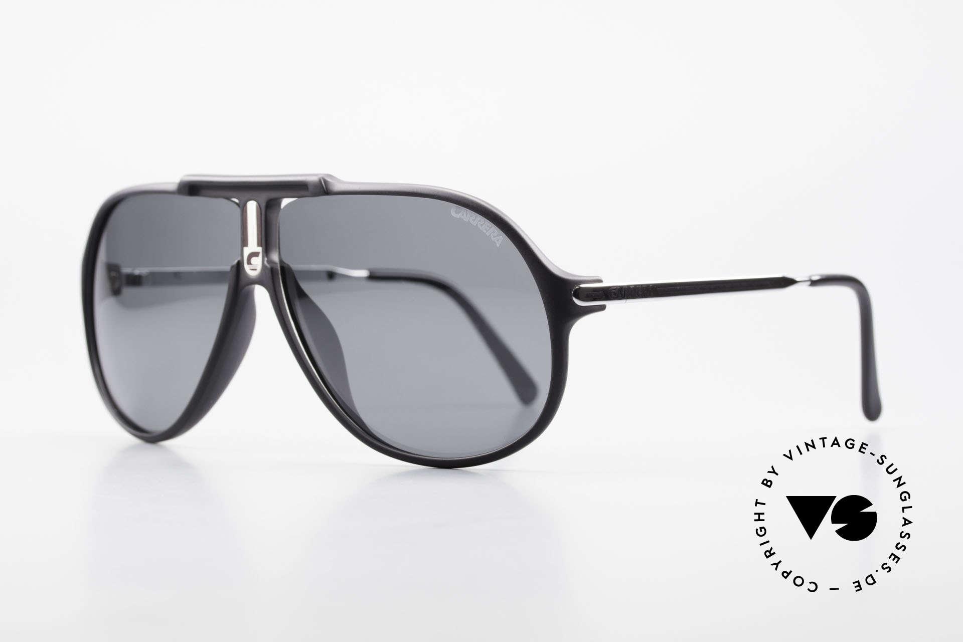 Carrera 5590 80er 90er Brille Polarisierend, orig. Katalog-Name: Modell 5590 Jet Sport Performance, Passend für Herren