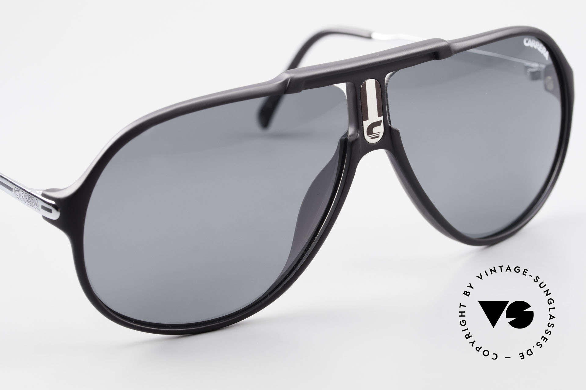 Carrera 5590 80er 90er Brille Polarisierend, 1x grau POLAR, 1x braun C-EXTREME, 1x braun-Verlauf, Passend für Herren
