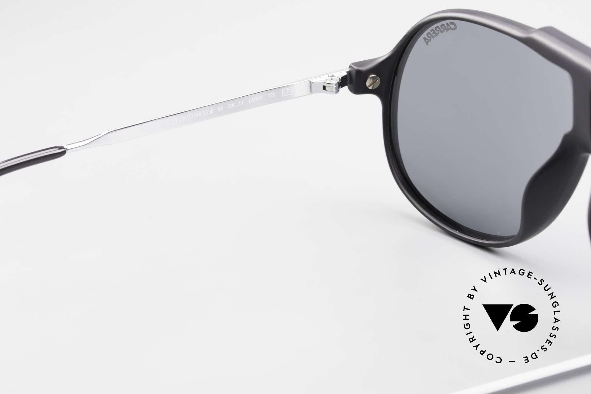 Carrera 5590 80er 90er Brille Polarisierend, ungetragen (wie alle unsere 80er Carrera Sonnenbrillen), Passend für Herren