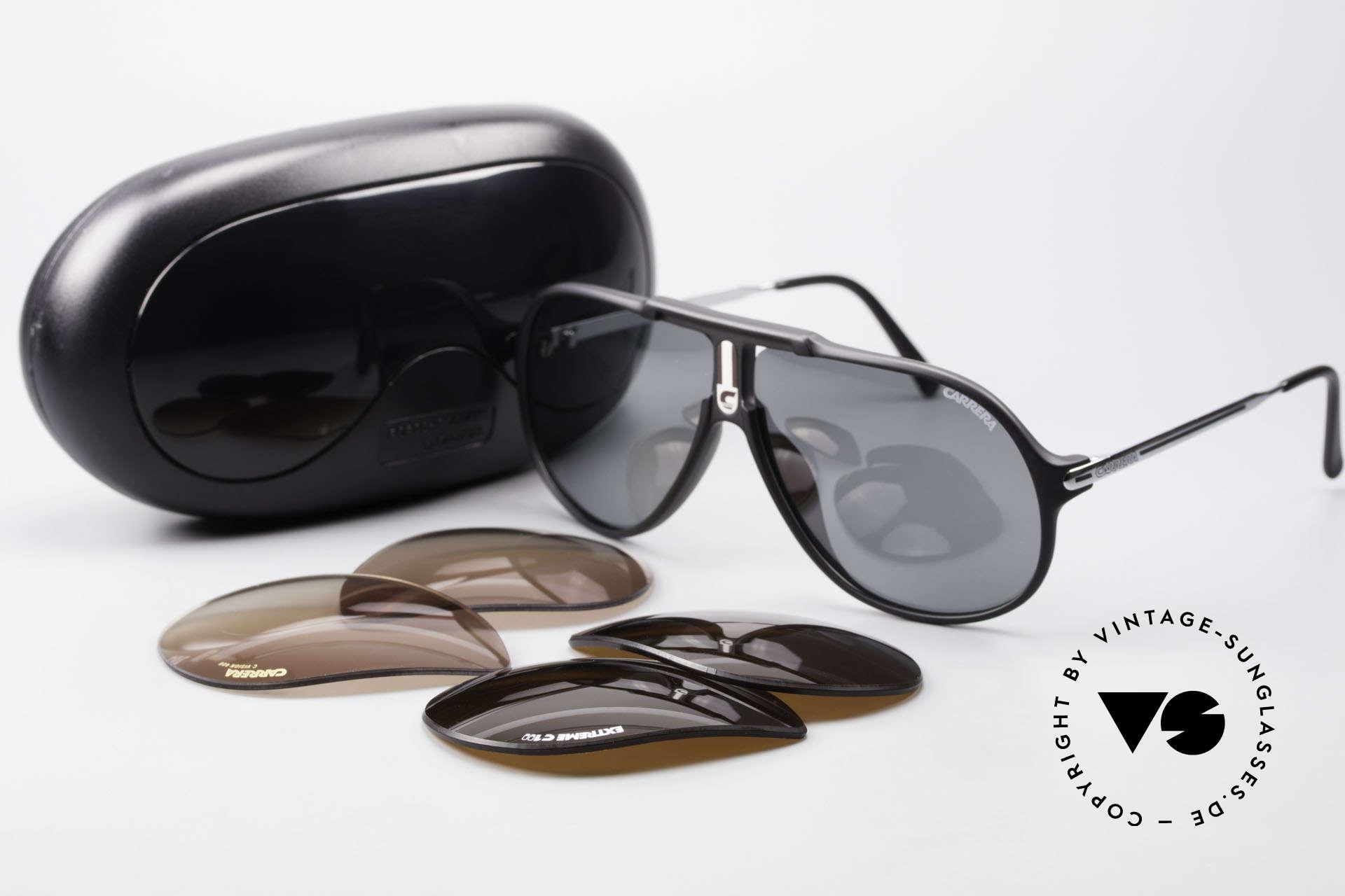 Carrera 5590 80er 90er Brille Polarisierend, KEINE Retrobrille; ein mind. 30 Jahres altes ORIGINAL!, Passend für Herren