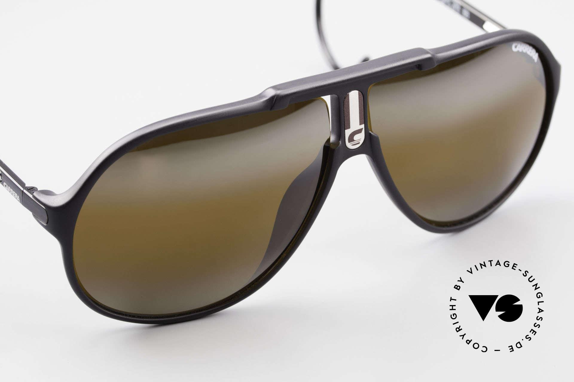 Carrera 5590 Verspiegelt Vario Sportbügel, ungetragen (wie alle unsere 80er Carrera Sonnenbrillen), Passend für Herren