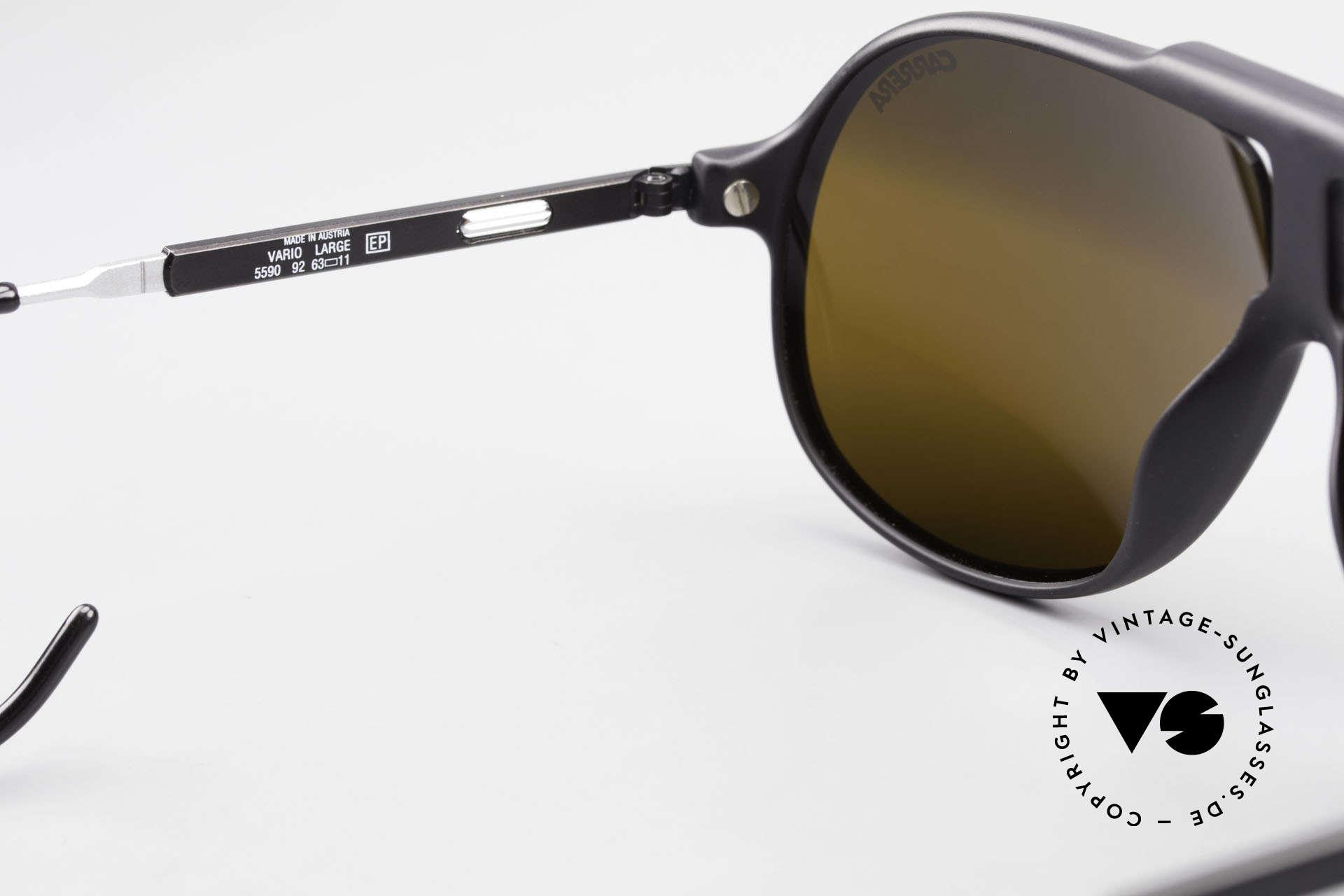 Carrera 5590 Verspiegelt Vario Sportbügel, KEINE Retrobrille; ein mind. 30 Jahres altes ORIGINAL!, Passend für Herren
