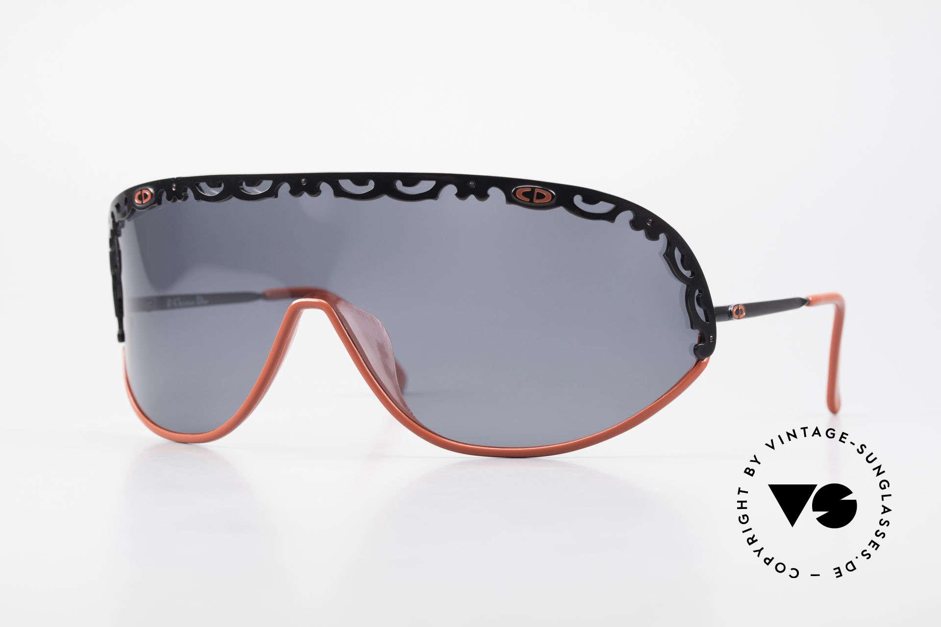 Christian Dior 2501 Polarisierende Sonnenbrille, Christian Dior Designer Sonnenbrille von 1989/1990, Passend für Damen