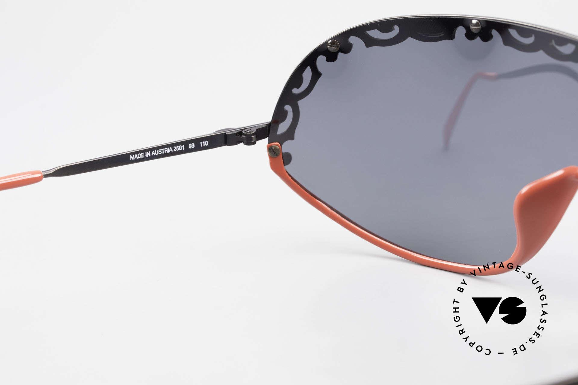 Christian Dior 2501 Polarisierende Sonnenbrille, KEINE RETROmode; eine 30 Jahre alte vintage Rarität!, Passend für Damen