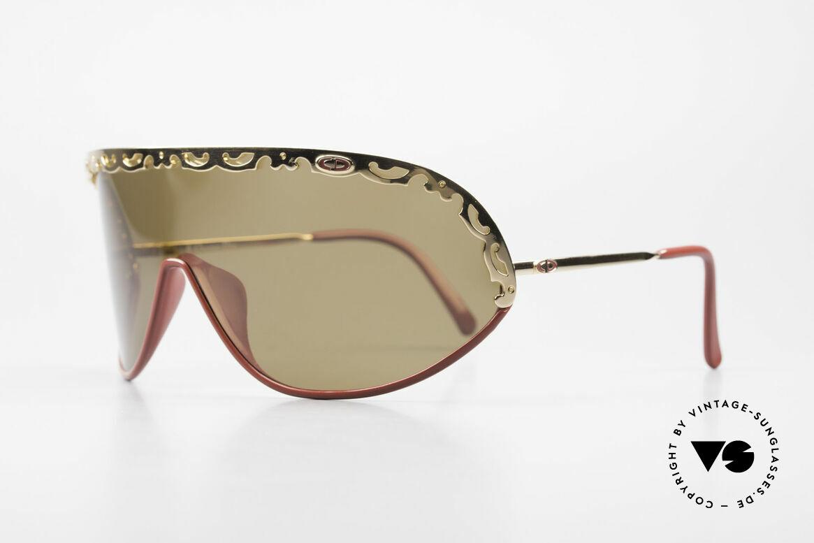 """Christian Dior 2501 Panorama View Sonnenbrille, ein vintage """"Must-have"""" für alle Mode-Liebhaberinnen, Passend für Damen"""