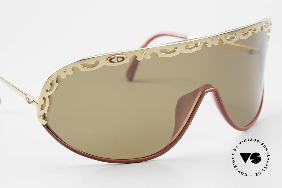 Christian Dior 2501 Panorama View Sonnenbrille, ungetragen (wie alle unsere 80er / 90er C. Dior Brillen), Passend für Damen