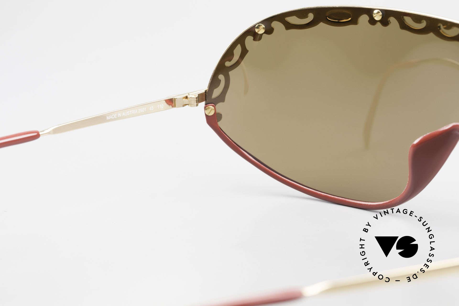 Christian Dior 2501 Panorama View Sonnenbrille, KEINE RETROmode; eine 30 Jahre alte vintage Rarität!, Passend für Damen