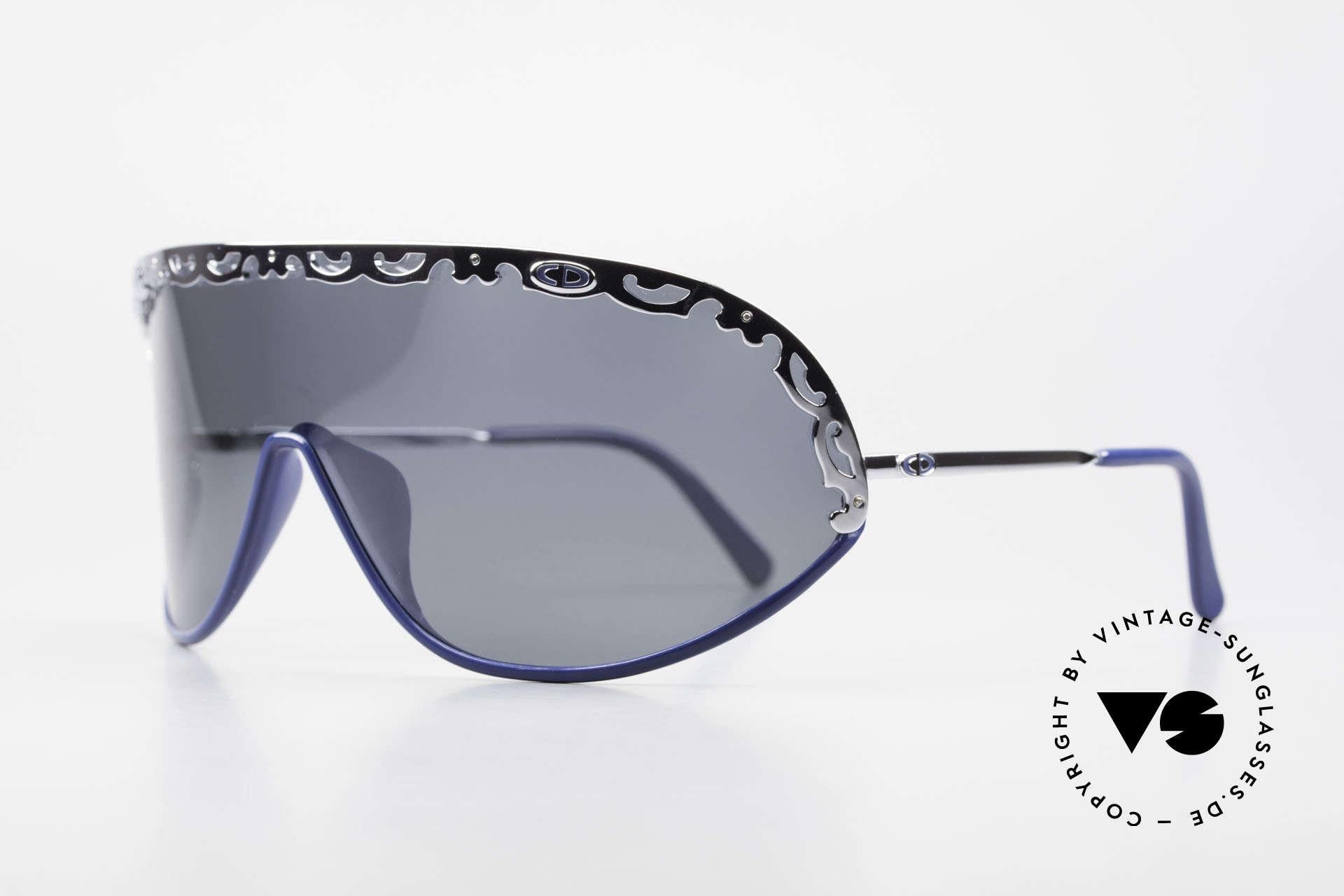 Christian Dior 2501 Panorama View Designerbrille, funktionales Designerstück mit polarisierender Scheibe, Passend für Damen