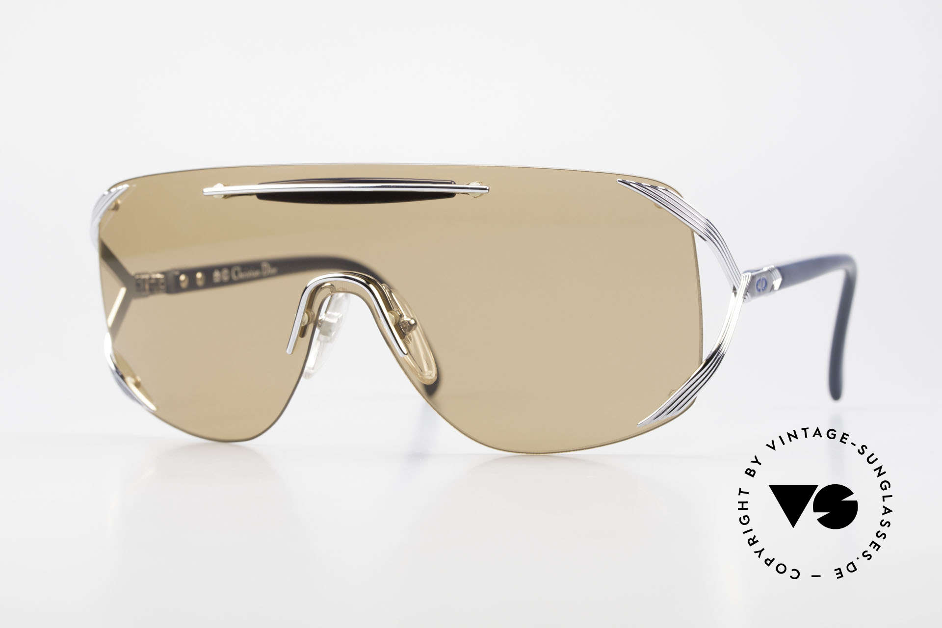 Christian Dior 2434 Panorama View Sonnenbrille, vintage Dior Designer-Sonnenbrille von 1989/90, Passend für Damen
