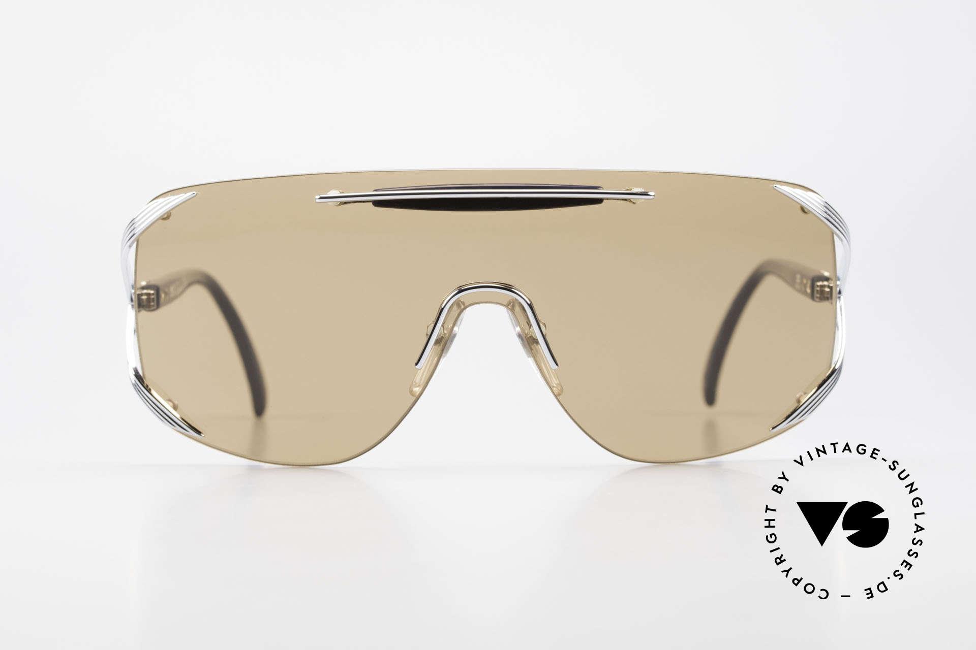 """Christian Dior 2434 Panorama View Sonnenbrille, ein durchgehendes Glas; sogen. """"Shield Design"""", Passend für Damen"""