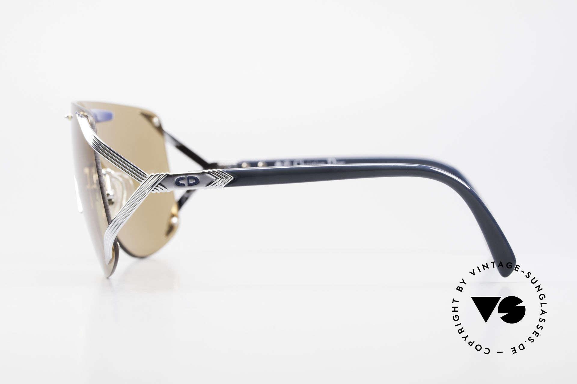 Christian Dior 2434 Panorama View Sonnenbrille, ungetragen (wie alle unsere DIOR Sonnenbrillen), Passend für Damen