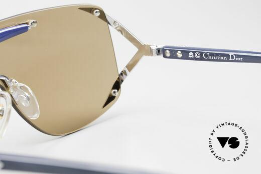 Christian Dior 2434 Panorama View Sonnenbrille, u.a. getragen von Rihanna (Fotos dazu auf Google), Passend für Damen