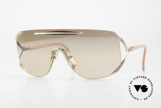 Christian Dior 2434 Leicht Pink Verspiegelte Brille Details