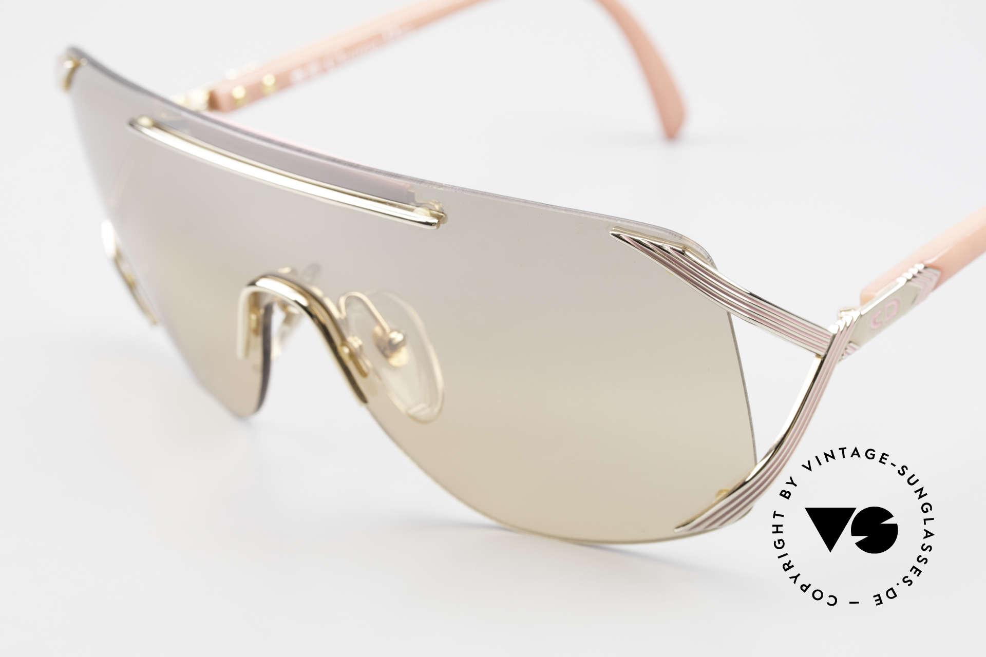 Christian Dior 2434 Leicht Pink Verspiegelte Brille, ungetragen (wie alle unsere DIOR Sonnenbrillen), Passend für Damen