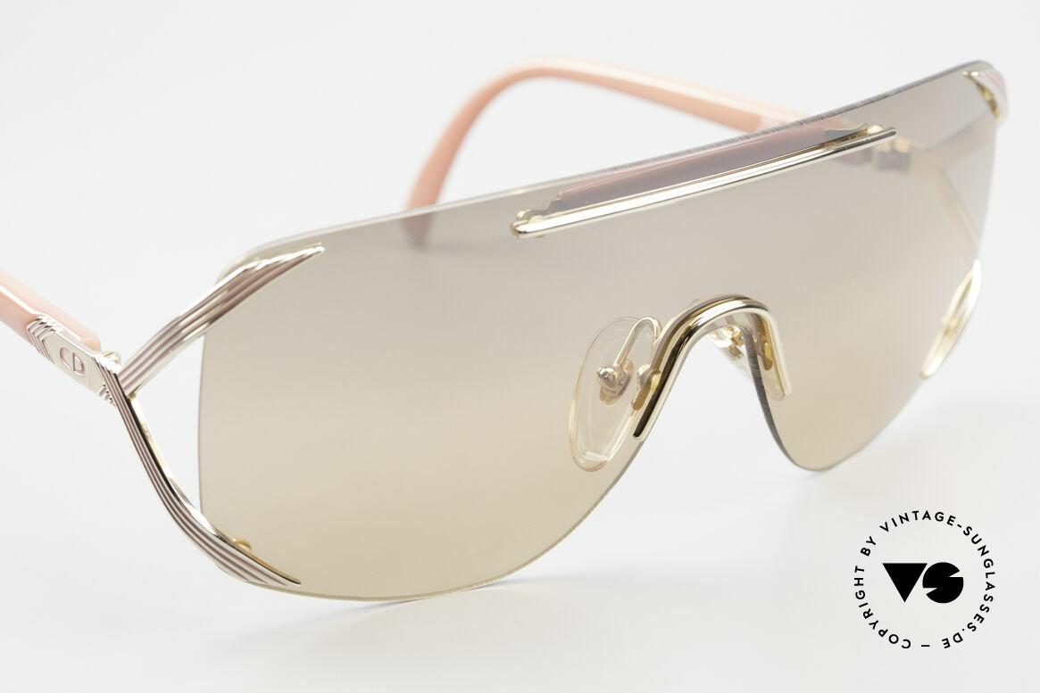 Christian Dior 2434 Leicht Pink Verspiegelte Brille, KEINE Retro-Sonnenbrille; eine echte alte Rarität, Passend für Damen