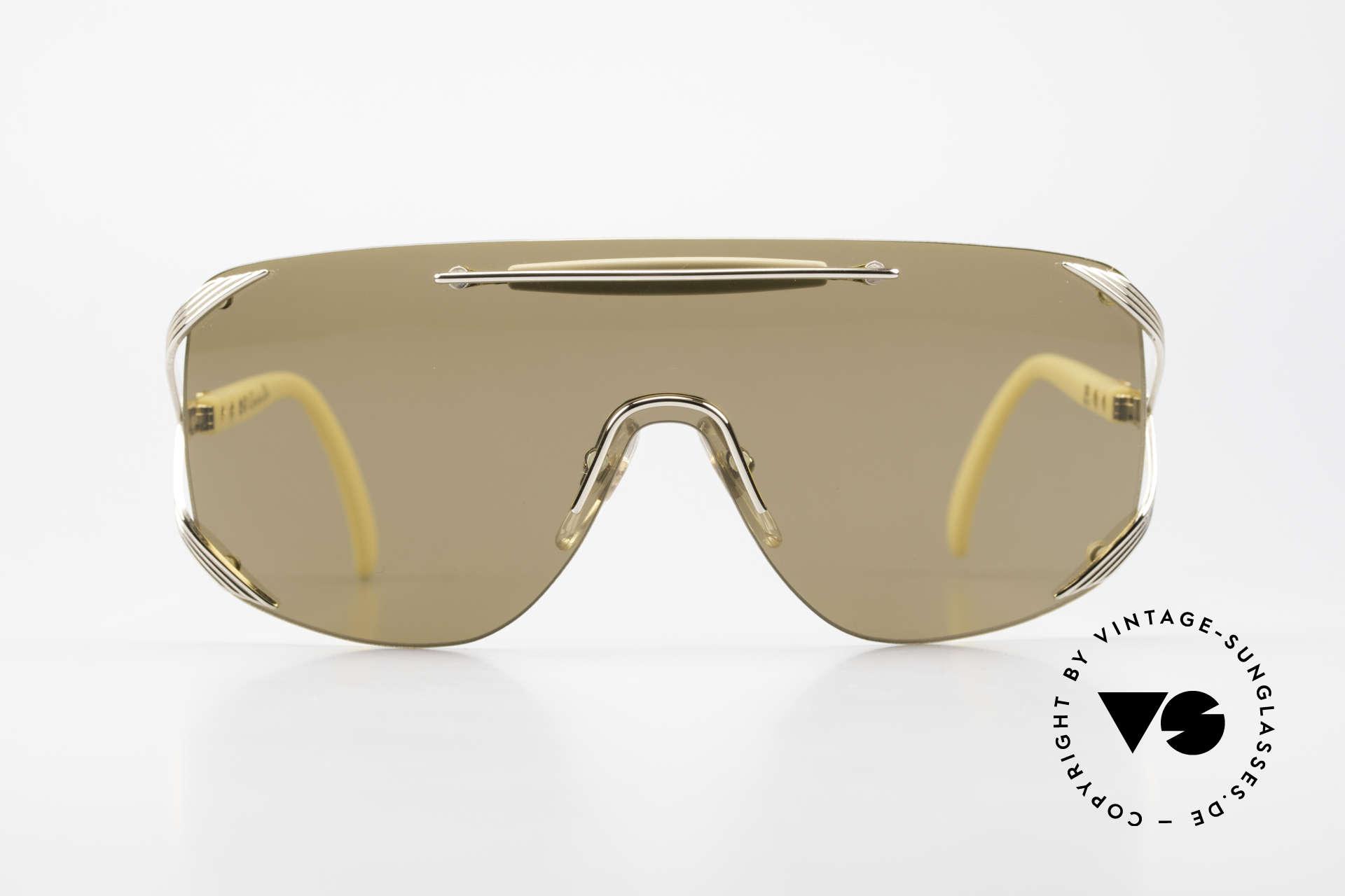 Christian Dior 2434 Designerbrille Shield Maske, ein durchgehendes Glas für einen Panorama View, Passend für Damen