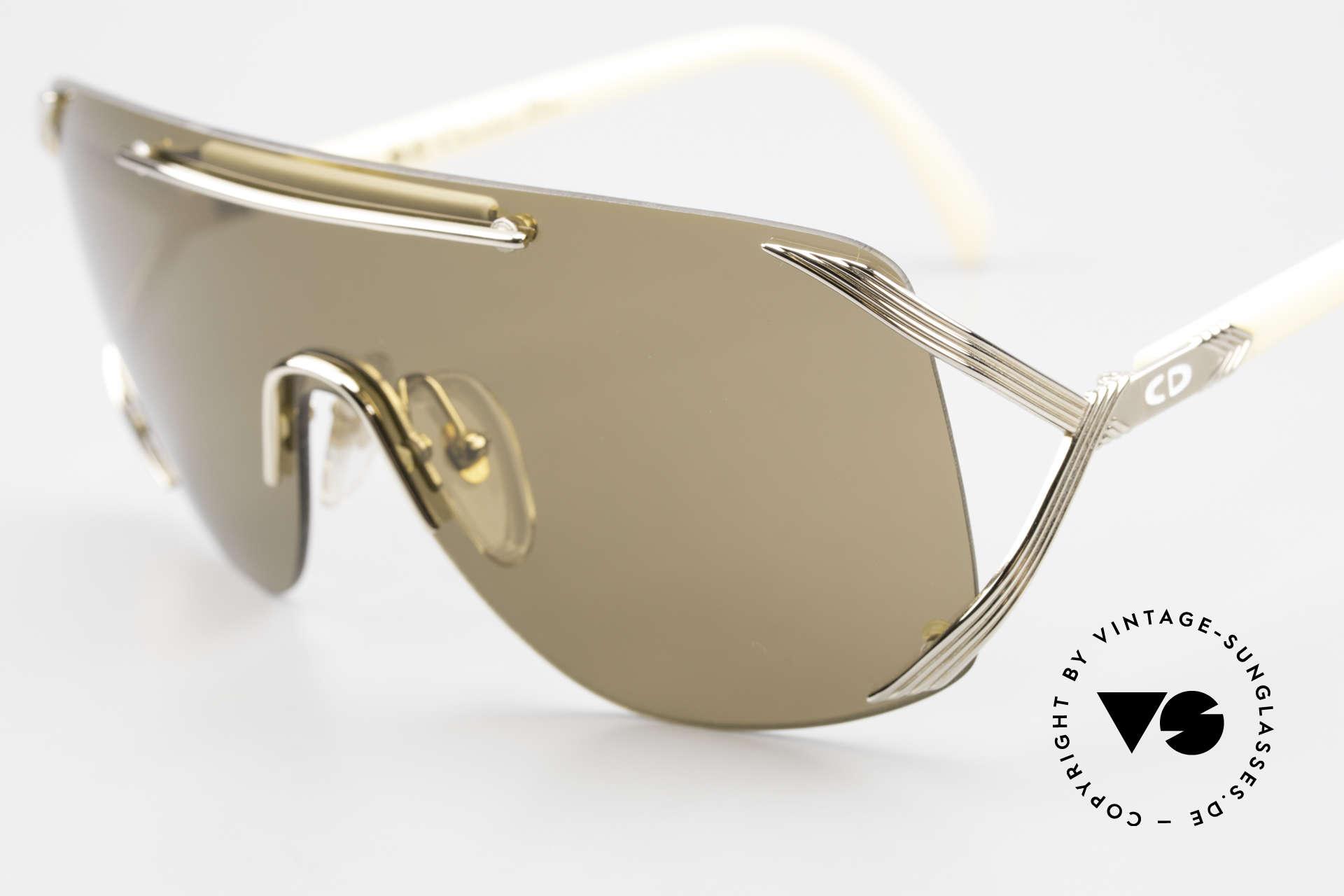 Christian Dior 2434 Designerbrille Shield Maske, ungetragen (wie alle unsere DIOR Sonnenbrillen), Passend für Damen