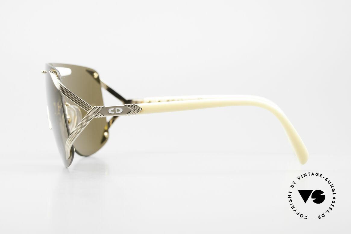 Christian Dior 2434 Designerbrille Shield Maske, KEINE Retro-Sonnenbrille; eine echte alte Rarität, Passend für Damen