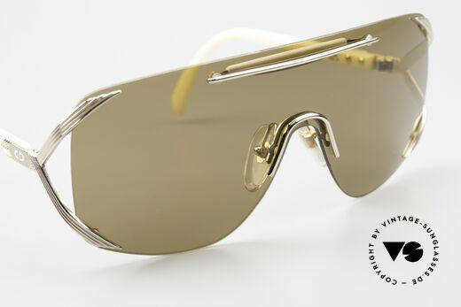 Christian Dior 2434 Designerbrille Shield Maske, auch Rihanna trug schon eine alte Dior 2434 Brille, Passend für Damen