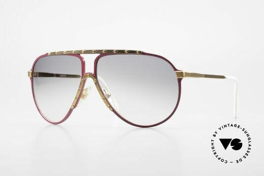 Alpina M1 80er Vintage Kultbrille Pink Details
