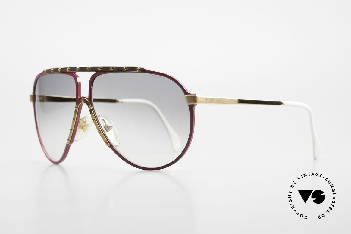 Alpina M1 80er Vintage Kultbrille Pink, vielgesuchte VINTAGE Brille aus dem Jahre '87, Passend für Damen