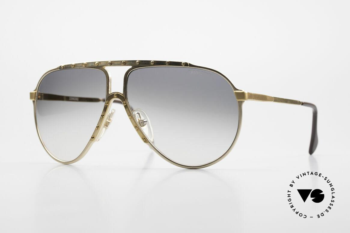 Alpina M1 80er Kult Vintage Sonnenbrille, legendäre Alpina M1 Sonnenbrille, Größe 60°12, Passend für Herren und Damen