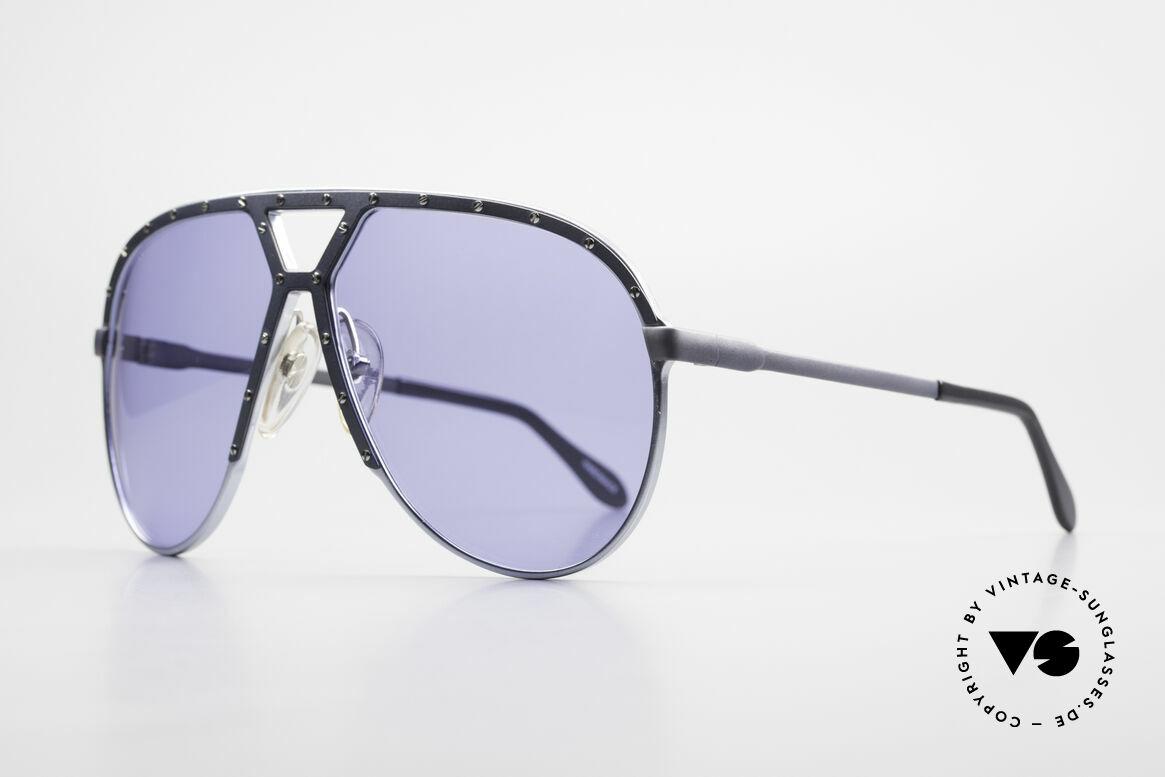 Alpina M1 Alte M1 Sonnenbrille Von 1981, 1. Generation ist etwas höher als die M1s ab 1985, Passend für Herren