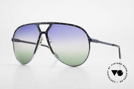 Alpina M1 Alte 80er Brille Einzelstück Details