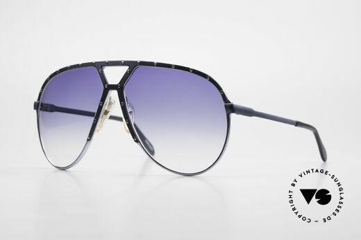 Alpina M1 Sehr Grosse 80er Sonnenbrille Details