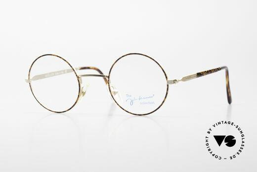 John Lennon - Revolution Vintage Brille Klein & Rund Details