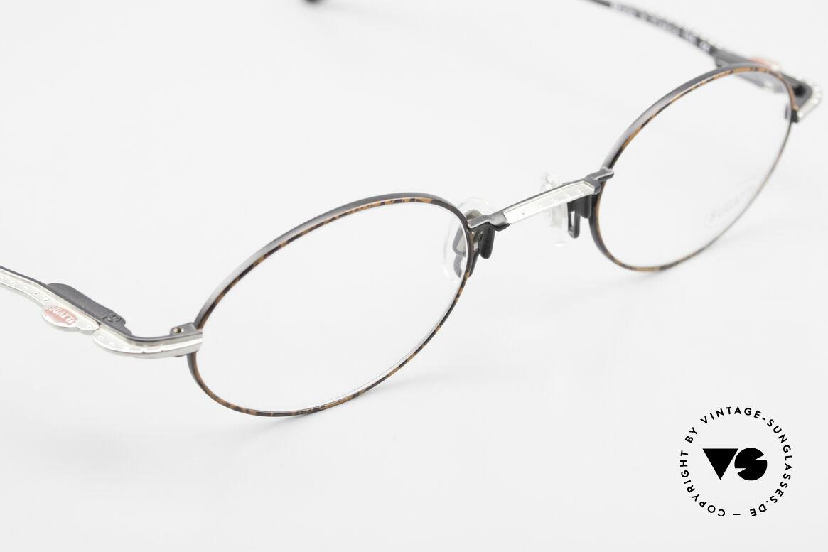 Bugatti 23191 Ovale Luxus Brillenfassung, ungetragen (wie alle unsere Bugatti Fassungen), Passend für Herren