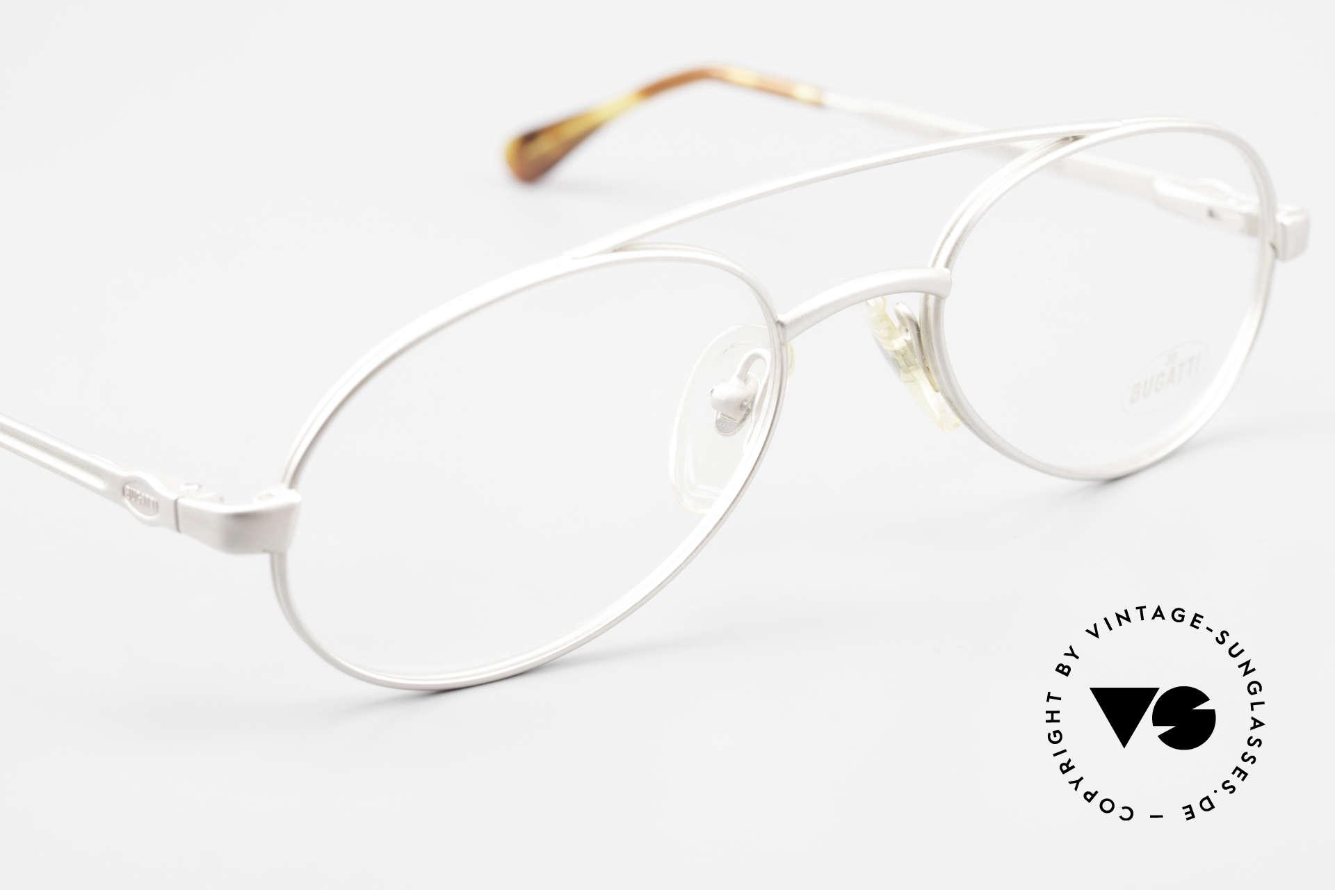 Bugatti 08105 Alte Vintage Brille Herren 80er, KEINE Retrobrille, sondern ein altes 80er Original, Passend für Herren