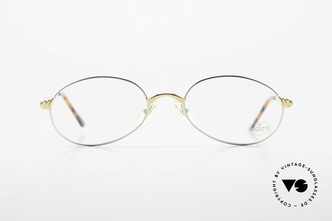 Bugatti 14109 90er Brille Titanium Herren, circa Mitte der 90er Jahre in Frankreich produziert, Passend für Herren