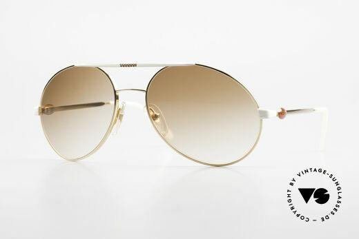 Bugatti 64317 Herren Sonnenbrille Vintage Details