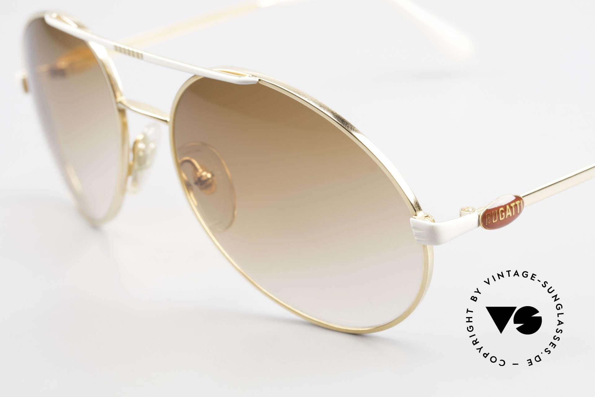 Bugatti 64317 Herren Sonnenbrille Vintage, ungetragen; wie all unsere seltenen vintage Bugattis, Passend für Herren