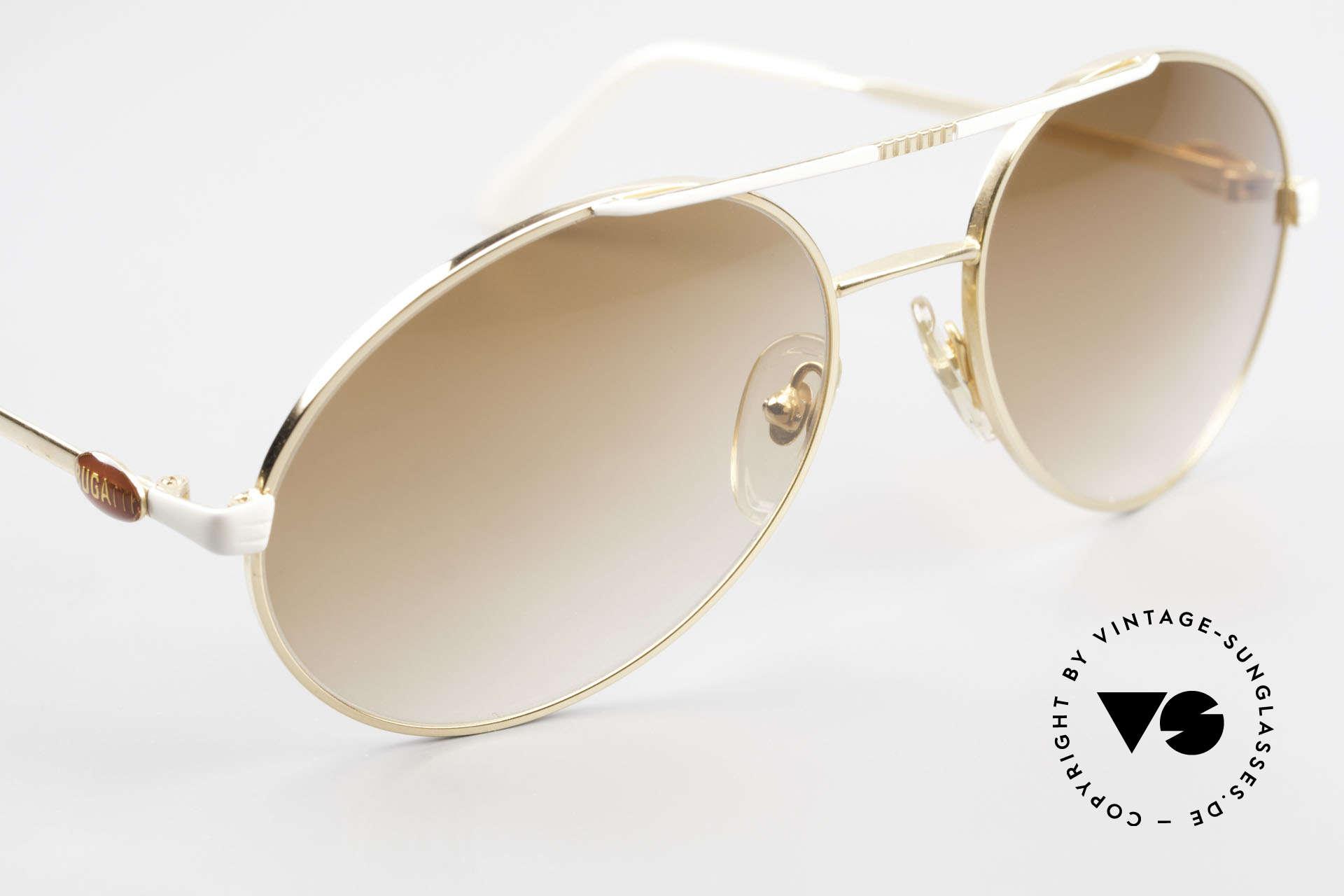 Bugatti 64317 Herren Sonnenbrille Vintage, ein altes Original von 1983 und KEINE RETRObrille!, Passend für Herren