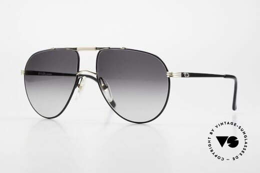 Christian Dior 2248 80s Aviator Large Sonnenbrille Details