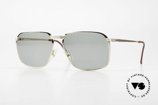 Christian Dior 2489 80er XL Herren Sonnenbrille Details