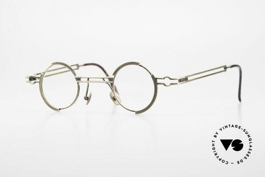 Koure KR8103 90er Brille Steampunk Rund Details