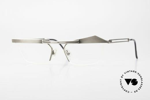 Koure KR8077 Designerbrille Halb Randlos Details