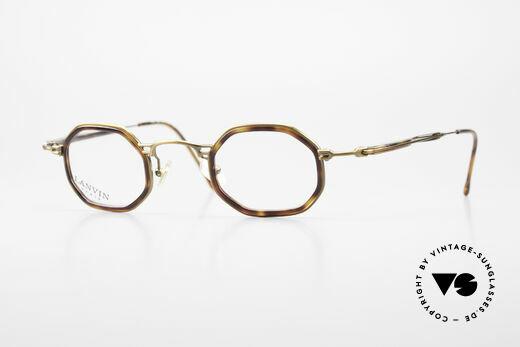 Lanvin 1222 Achteckige Kombi-Brille 90er Details