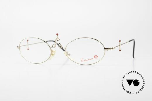 Casanova Arché 1 Kunstbrille 80er Vergoldet Details