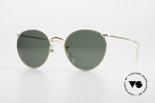 Algha Panto 47/22 Alte 70er Gold Filled Brille Details