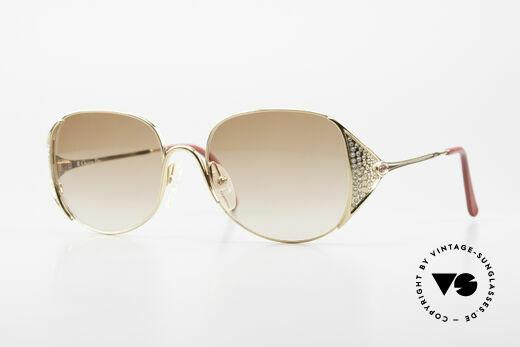 Christian Dior 2362 Damen Sonnenbrille Mit Strass Details