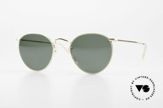 Algha Panto 45/20 Kleine 70er Gold Filled Brille Details
